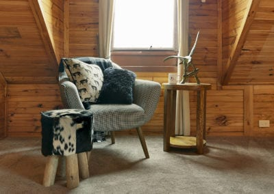 bedroom caribou chair