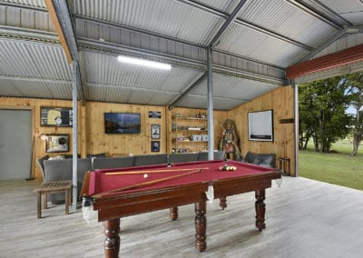 bison den pool table