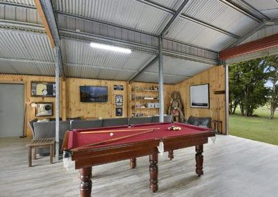 bison den pool table